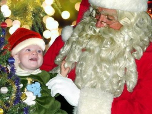 Дети и Дед Мороз