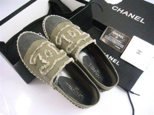 Женская обувь Chanel эспандрильи