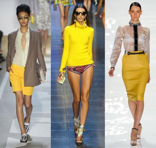 Главные цвета моды