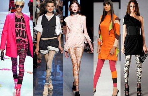 Мода на колготки и леггинсы
