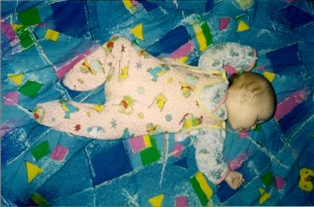 О пользе здорового сна для новорожденного