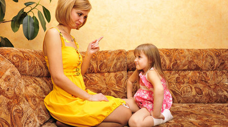 Как правильно ругать ребенка?