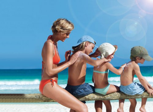 Защита ребенка от солнечных лучей