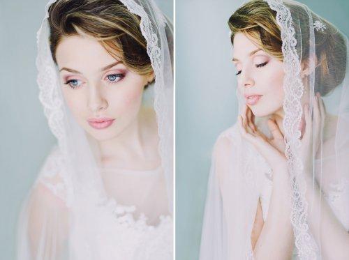 Свадебный макияж и платья пошагово