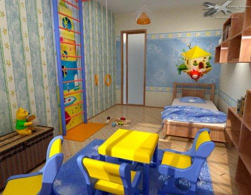 Создаем уютную детскую комнату