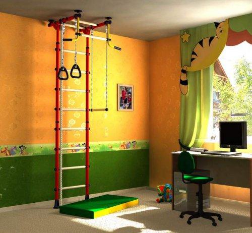 Домашние развивающие спорткомплексы для детей