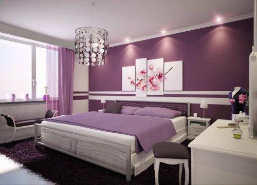 Какие цвета подойдут для женской спальни
