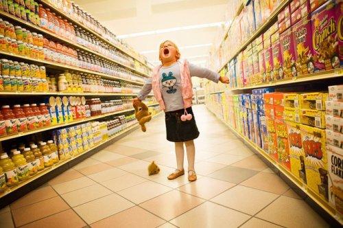 Как избежать истерик в магазине?