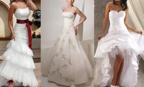 Как подобрать свадебное платье полной девушке