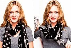 Как завязать вязаный шарф