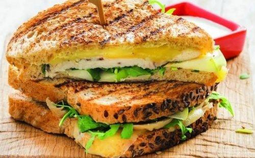 Рецепт сэндвичей с сыром и индейкой