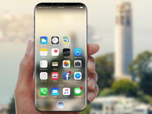 Первые сведения о дисплее iPhone 8