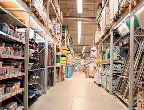 Покупка стройматериалов в специализированных супермаркетах