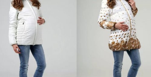 Выбираем зимнюю куртку для беременных