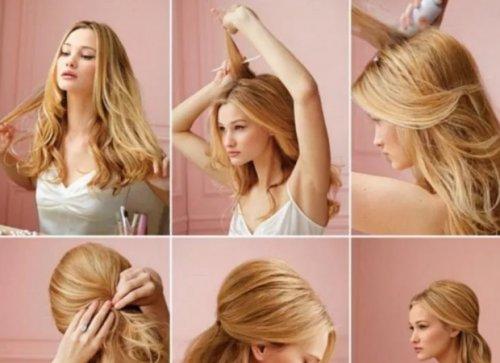 Несложные прически на длинные волосы – варианты