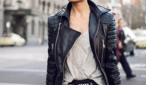 Кожаная куртка – тренд на все времена