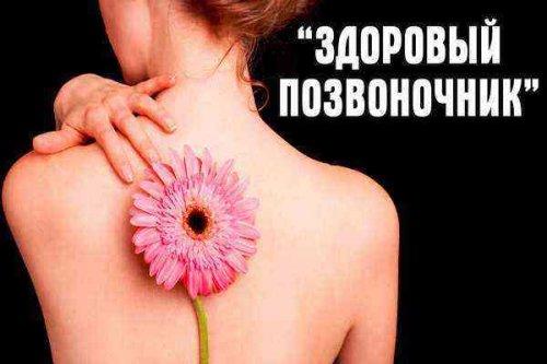 Здоровый позвоночник – здоровый организм
