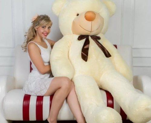Плюшевые медведи 2 метра. Что это такое?