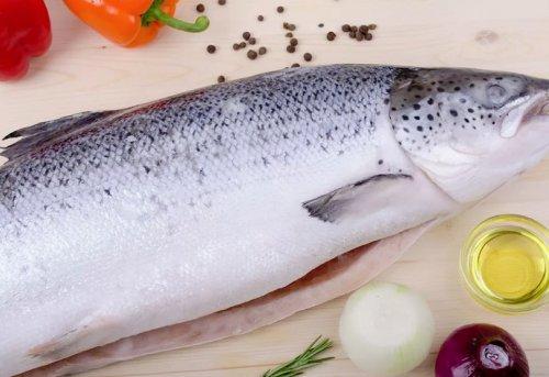 Как отличить замороженный лосось от охлажденного