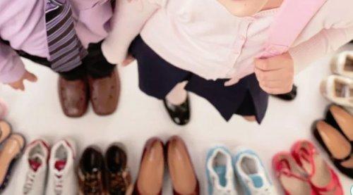 Правильный выбор детской обуви