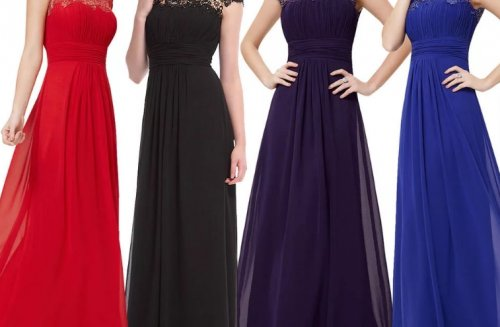 How to choose an evening dress