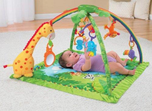 С какого возраста использовать развивающий коврик для детей